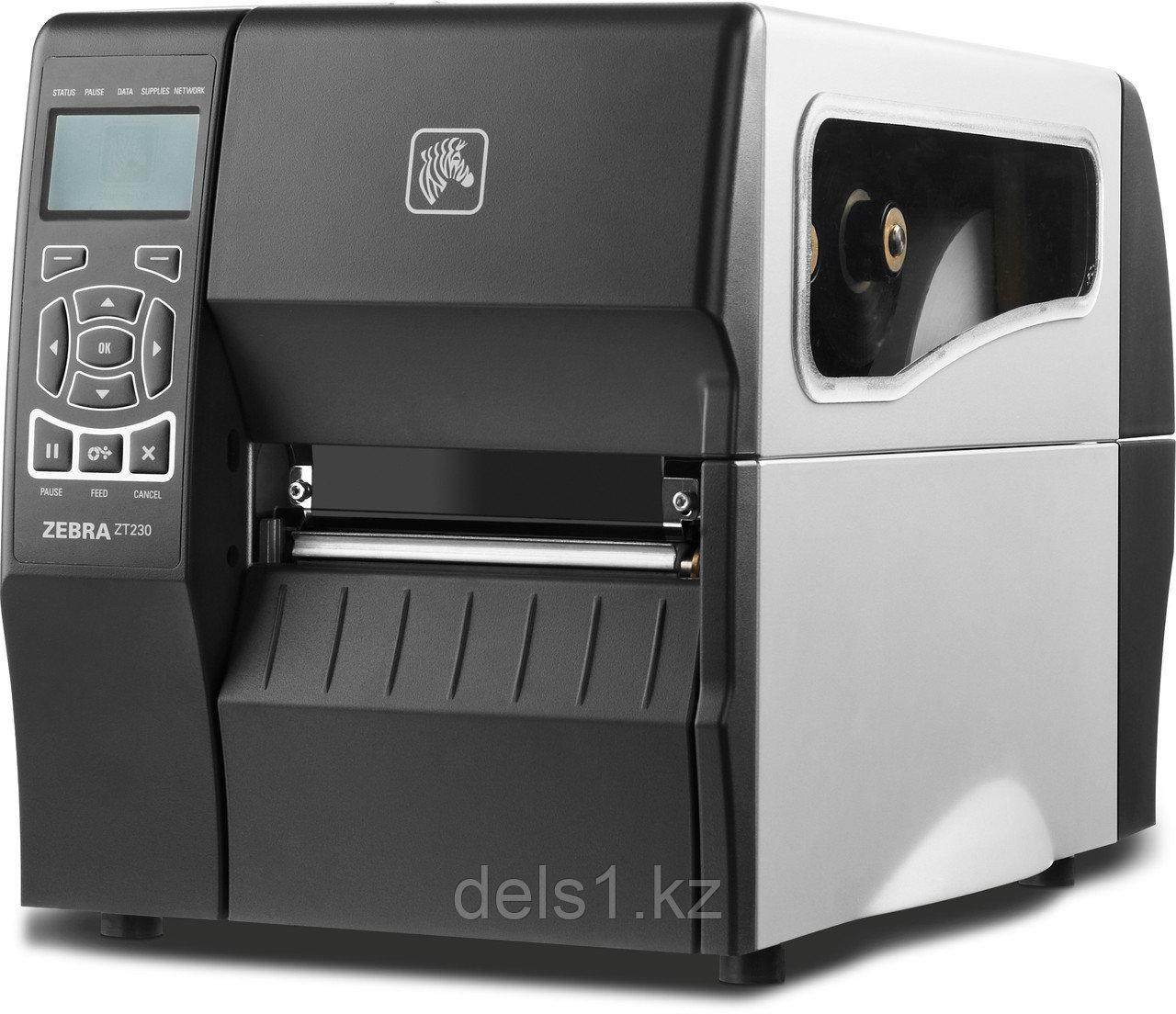 Промышленный принтер этикеток Zebra ZT230