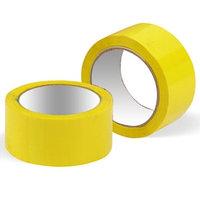 Скотч строительный желтый 50 мм 4S 100 м.