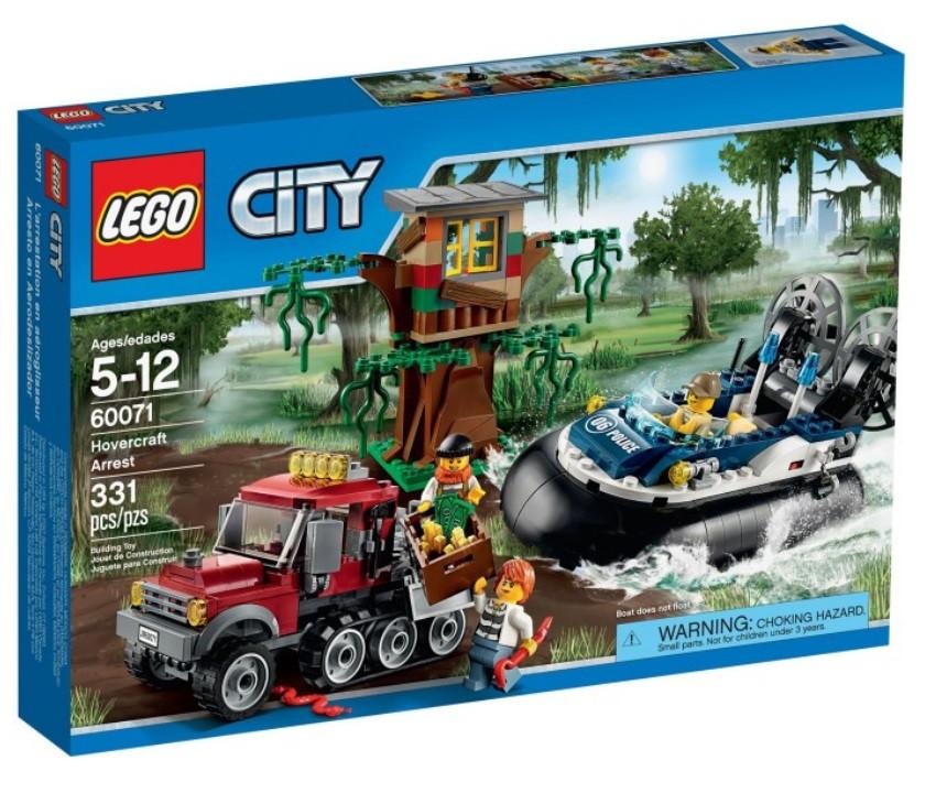 60071 Lego City Полицейский корабль на воздушной подушке, Лего Город Сити