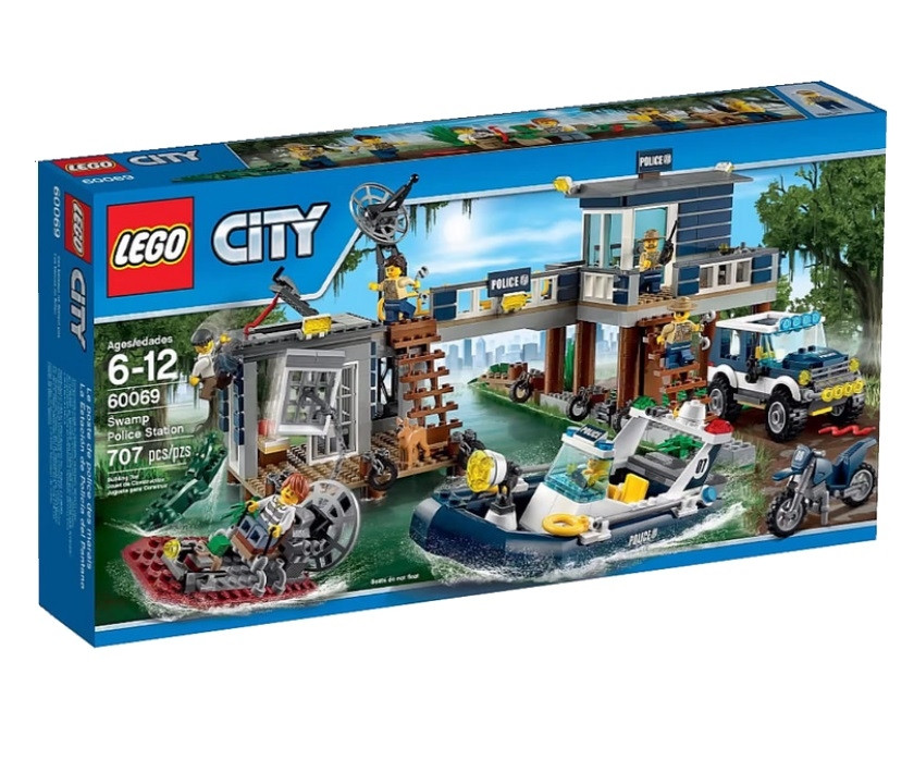 60069 Lego City Участок новой Лесной Полиции, Лего Город Сити