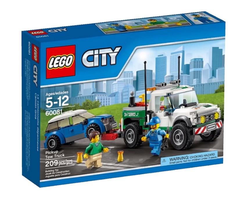 60081 Lego City Буксировщик автомобилей, Лего Город Сити