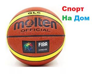 Баскетбольный мяч Molton GL6, фото 2