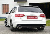 Выхлопная система Supersprint на Audi A4 B8 Quattro