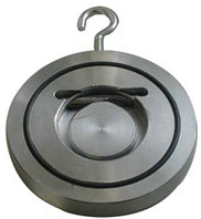 Клапан обратный межфланцевый подъемный dn 100, фото 1
