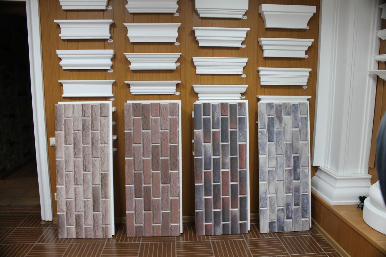 Термопанели с имитацией кирпичной кладки