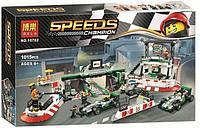 Конструктор BELA 10782 пит стоп SPEED CHAMPION аналог Lego (75883) 1015 деталей