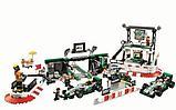 Конструктор BELA 10782 пит стоп SPEED CHAMPION аналог Lego (75883) 1015 деталей, фото 2