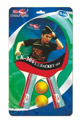 2 ракетки, 2 шарика Double Fish, в блистере (7-8-7)