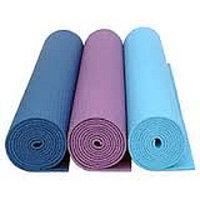 Коврики для йоги (61х173х0.6 см) ПВХ