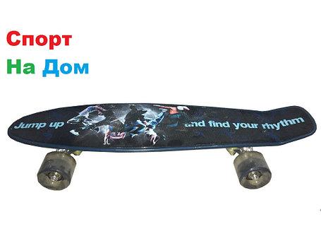 Пенни Борд (Penny Board) с ярким дизайном (пластборд), фото 2