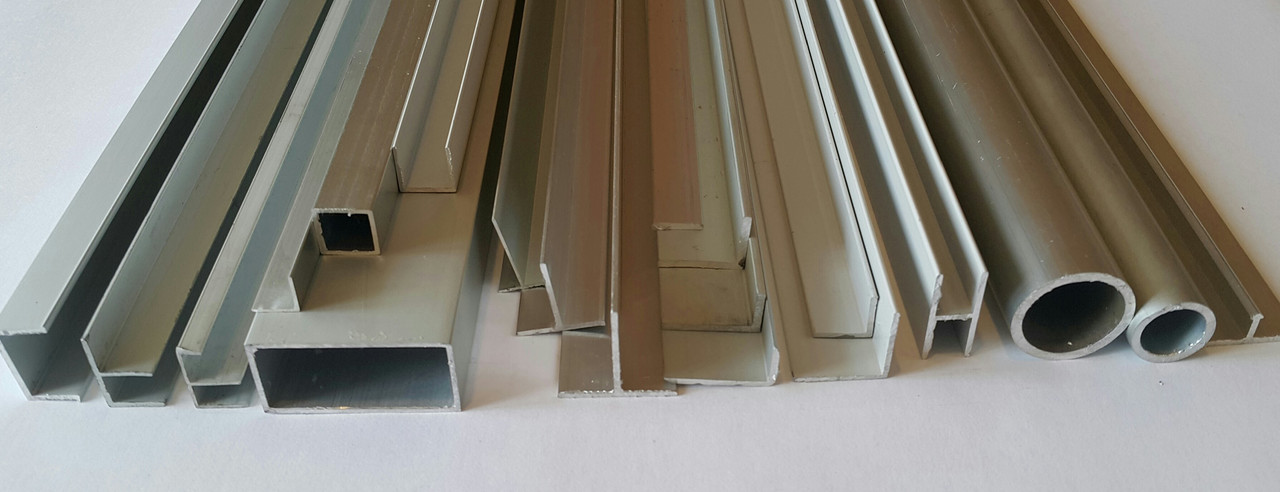 Алюминиевый швеллер 50мм х 25мм х 1мм
