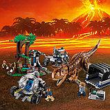 Конструктор Bela Jurassic World Побег в гиросфере от карнотавра 10926 (Аналог LEGO Jurassic World 75929, фото 3