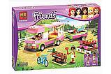 """Конструктор Bela 10168 """"Оливия и домик на колёсах"""" (аналог Lego Friends), фото 2"""