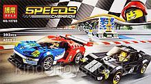 Конструктор BELA 10780 2016 GT & 1966 FORD GT40 серия SPEED CHAMPION 392 деталей аналог Lego лего 75879