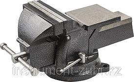"""Тиски STAYER """"STANDARD"""" слесарные с поворотным основанием, 150мм/ 12,5кг"""