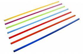 Палка гимнастическая d 2,5 см дл 100 см К179