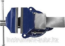 Тиски DEXX слесарные с поворотными механизмом, 100мм, фото 3