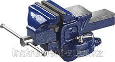 Тиски DEXX слесарные с поворотными механизмом, 150мм, фото 2