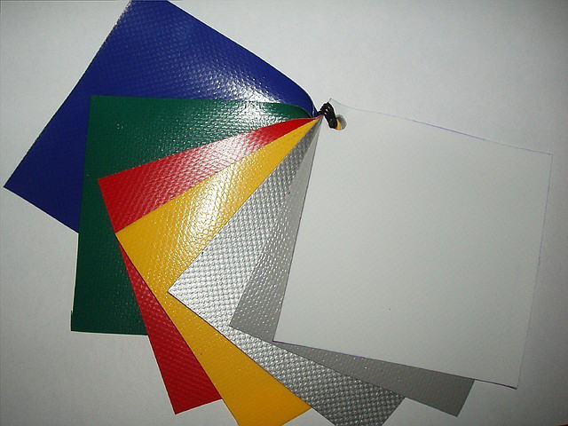 Ткань ПВХ синяя 3,2х50 (160) Multitarp 630гр пвх4