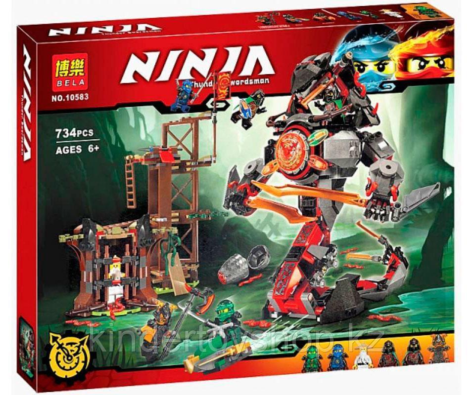 Конструктор Bela 10583 Ninja Ниндзя Ninjago Ниндзяго Железные удары судьбы аналог Лего (70626) 734 дет