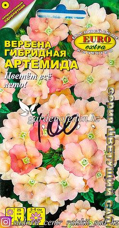 """Семена пакетированные Euro Extra. Вербена гибридная """"Артемида"""", фото 2"""