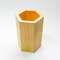 """Заготовка для декора """"Органайзер для карандашей"""", деревянная"""