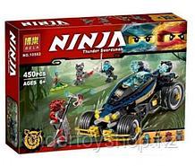 "Конструктор Ninja ""Самурай VXL"", 453 детали. Фирма Bela 10582, аналог Lego Ninjago 70625"