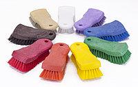 Щетка HACCPER для мытья разделочных досок, рабочих поверхностей, жесткая, 153 мм