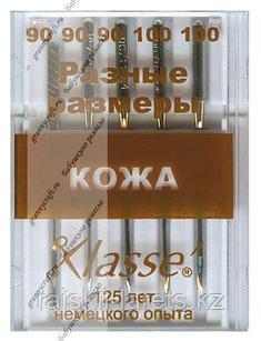 Машинные иглы Klasse для кожи  А6140/MIX
