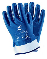 Нитриловые перчатки ARCTIKUS  полностью облитые 2 слоя (Жесткая крага)
