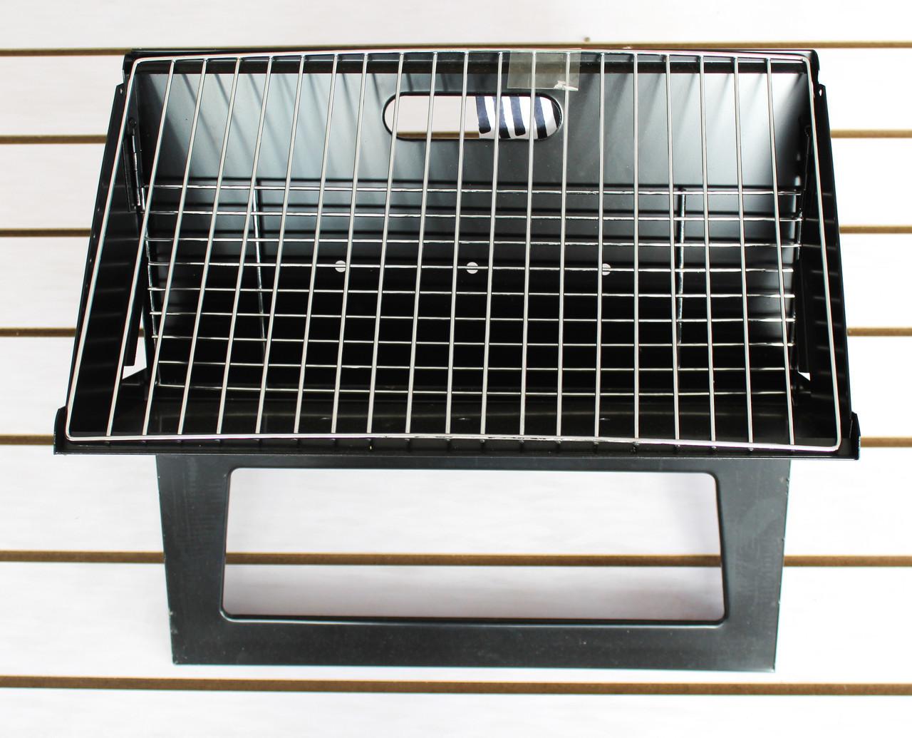 Мангал из стали, черный, 30*44*36 см