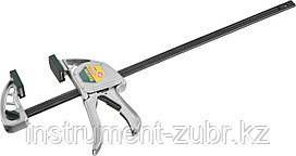 """Струбцина """"EcoKraft"""" ручная пистолетная, KRAFTOOL 32228-45, металлический корпус, 450/650мм, 200кгс"""