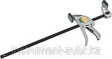 """Струбцина """"EcoKraft"""" ручная пистолетная, KRAFTOOL 32228-45, металлический корпус, 450/650мм, 200кгс, фото 2"""