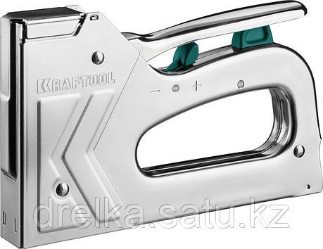 """Степлер для скоб """"GRAND 140"""" 3-в-1: тип 140 (6-16 мм) / 300 (16 мм) / 500 (16 мм), KRAFTOOL, фото 2"""