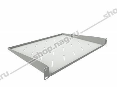 Полка консольная для шкафов глубиной 600мм, (глубина полки 350мм) распределенная нагрузка 20кг, цвет-серый (SN
