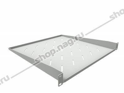 Полка консольная для шкафов глубиной 800мм, (глубина полки 450мм) распределенная нагрузка, 20кг, Цвет-серый (S
