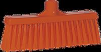 Щетка для подметания с прямой соединительной частью, 310 мм, средний ворс, оранжевый цвет