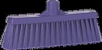 Щетка для подметания с прямой соединительной частью, 310 мм, средний ворс, фиолетовый цвет