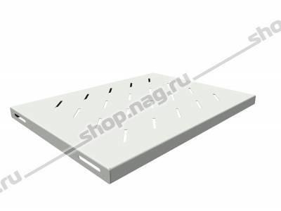 Полка стационарная для шкафов глубиной 600мм, (глубина полки 350мм) распределенная нагрузка 20кг, цвет-серый (