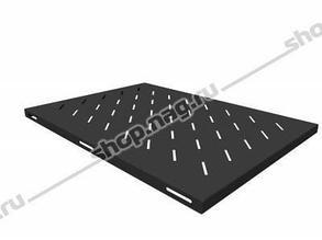 Полка стационарная для шкафов глубиной 900мм, (глубина полки 650мм) распределенная нагрузка 20кг, цвет-черный