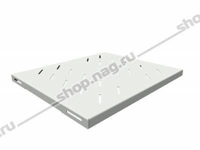 Полка стационарная усиленная для шкафов глубиной 600мм, (глубина полки 400мм) распределенная нагрузка 120кг, ц