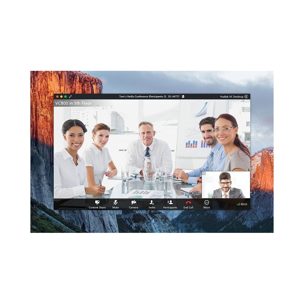 Видеоконференция Yealink VC Desktop