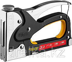 "Степлер для скоб ""BlackPro 53"" 3-в-1: тип 53 (4-14 мм) / 300 (10-14 мм) / 500 (14 мм), STAYER Professional"