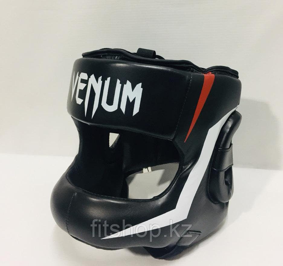 Кожаный  шлем для бокса Venum