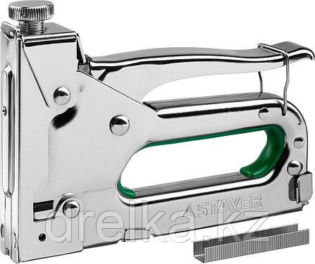 "Степлер STAYER ""Max 140"" с регулировкой силы удара, металл корпус 4-в-1, фото 2"