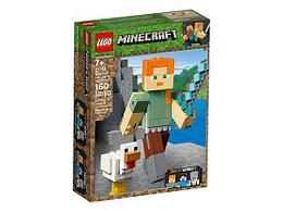 Конструктор LEGO Minecraft Алекс с цыпленком 21149