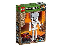 Конструктор LEGO Minecraft Скелет и лавовый куб 21150