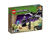 Конструктор LEGO Minecraftт Битва на земле 21151