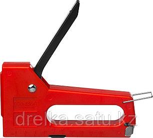 Степлер, пластиковый корпус для тонкой скобы тип 53 (4-8 мм), MIRAX, фото 2