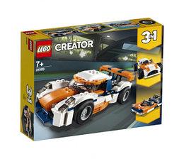 Lego Creator Оранжевый гоночный автомобиль